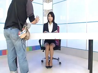 Wild fucking between lot of guys and provocative Aoi Kirishima