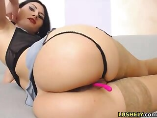 Masturbating with lovense lush vibrator and fingering my asshole