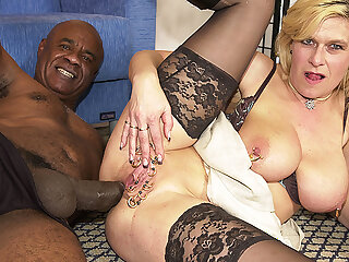 stepmom ass destroyed by a monster cock