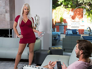 Milf London River loves to enjoyment from young horseshit