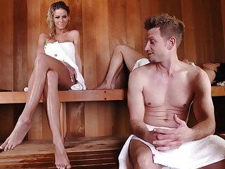 Duplicitous sauna sex