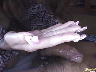 POV video of cute Japanese wife Tomoe Hinatsu sucking his dick