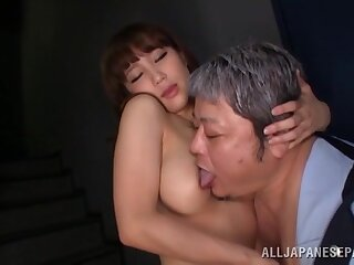Passionate intimacy about a sexy Japanese model