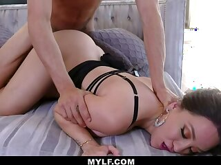Douchey Stepson gives Hard Time amp  Cock to Stepma