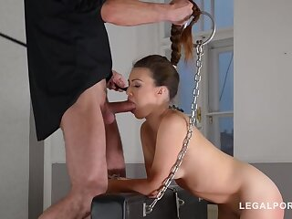 Submissive hottie Tiffany Doll dominated to a difficulty Xtreme waiting for asshole gapes GP528