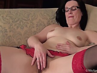 Emily Marshall In Sexy Glasses